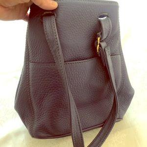Beautiful Vintage Lavender Leather Coach Bag